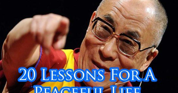 Dalai Lama life lessons