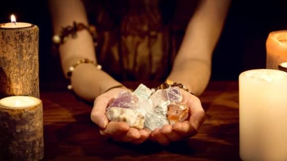 psychic crystals