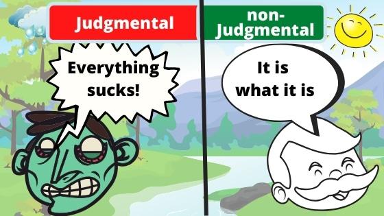 non judgmental attitude